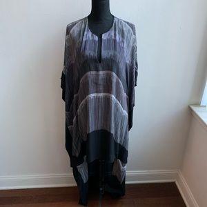 BCBG MAxAzria Black Cristen High Low Dress M/L